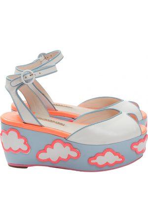SOPHIA WEBSTER Leather sandal