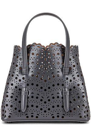 Alaïa Mina 20 Bag in Grey