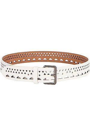 Alaïa Vienne Thin Belt in