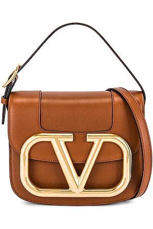 VALENTINO GARAVANI Supervee Crossbody Bag in Brown