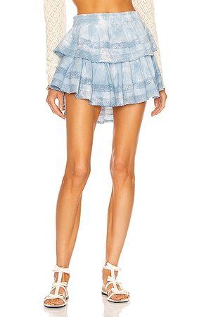 LOVESHACKFANCY Ruffle Mini Skirt in