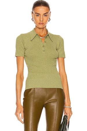 JoosTricot Polo Top in Green
