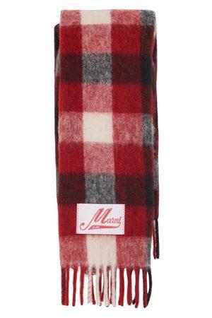 Marni Alpaca and mohair scarf
