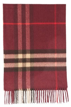 Burberry Men Scarves - The Classic Check Cashmere Scarf