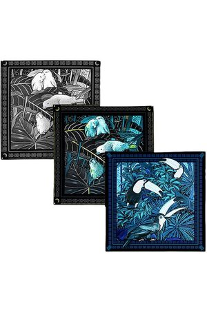 Maison Fetiche Gift Box 3 Pocket Squares The Birds