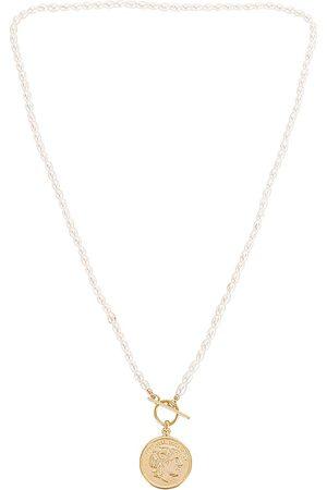 Shashi Regal Maverick Necklace in Metallic .