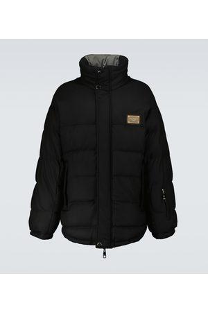 Dolce & Gabbana Men Parkas - Wool zipped parka jacket