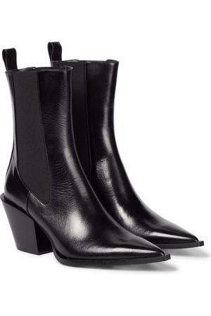 Dorothee Schumacher Walk The Lines leather Chelsea boots