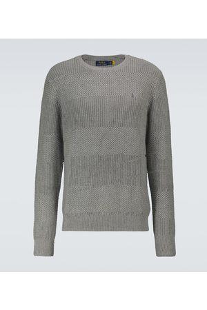 Polo Ralph Lauren Men Sweatshirts - Knitted cotton crewneck sweater