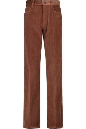 Tod's Straight cotton corduroy pants