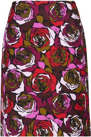 DRIES VAN NOTEN Floral miniskirt