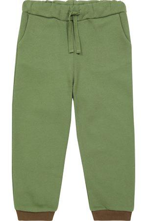 Caramel Horus cotton-blend jersey sweatpants