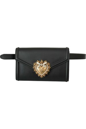 Dolce & Gabbana Women Clutches - Leather clutch bag