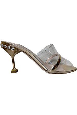 Miu Miu Cloth sandals