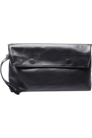 ANN DEMEULEMEESTER Leather clutch bag