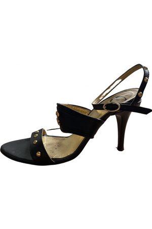 Roberto Cavalli Leather sandals