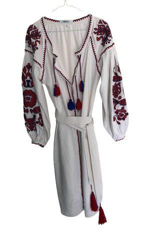 MARCH II Linen mid-length dress