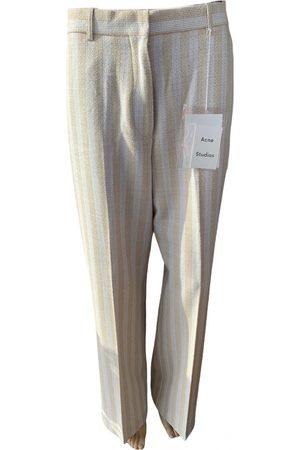 Acne Studios Linen straight pants