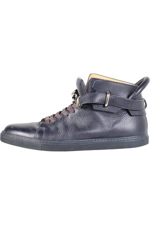 BUSCEMI Leather boots