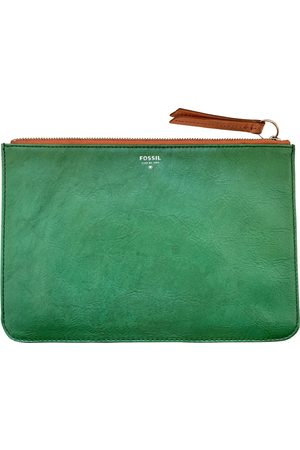 Fossil Leather clutch bag