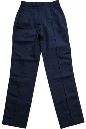Sandro Wool straight pants