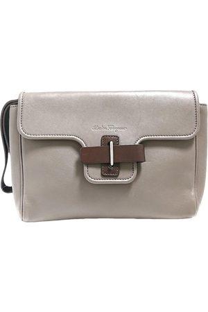 Salvatore Ferragamo Women Clutches - Leather clutch bag