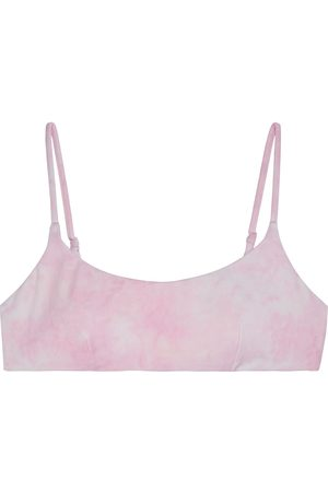 ONIA Women Bikinis - Woman Sarita Tie-dyed Bikini Top Baby Size S
