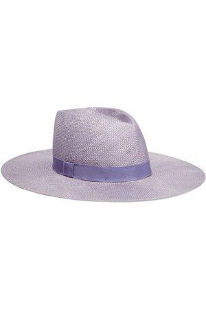 EUGENIA KIM Women Hats - Woman Harlowe Woven Sisal Sunhat Lavender Size ONESIZE