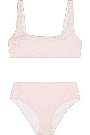 Morgan Lane Women Bikinis - Woman Lyla Flocked Bikini Baby Size S