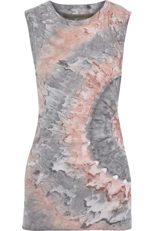 ENZA COSTA Woman Tie-dyed Pima Cotton-jersey Tank Size S