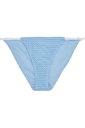 ONIA Woman Hannah Crocheted Low-rise Bikini Briefs Light Size S