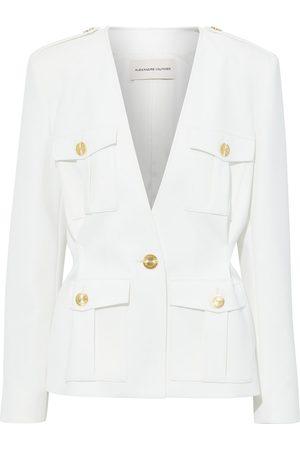 ALEXANDRE VAUTHIER Women Blazers - Woman Button-detailed Cady Blazer Off- Size 40