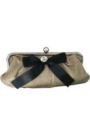 Marni Women Clutches - Leather clutch bag