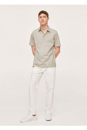 MANGO Thermoregulating cotton polo shirt