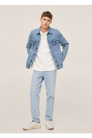 MANGO Men Denim Jackets - Medium wash denim jacket