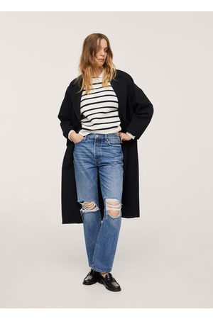 MANGO Lapels wool coat