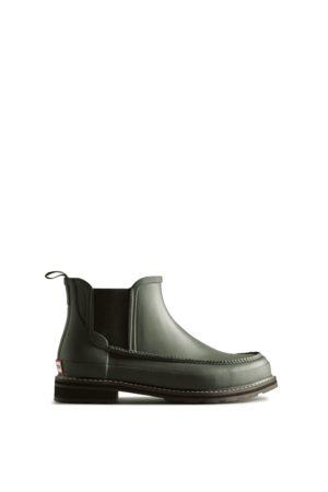 Hunter Men Chelsea Boots - Men's Original Moc Toe Chelsea Boots