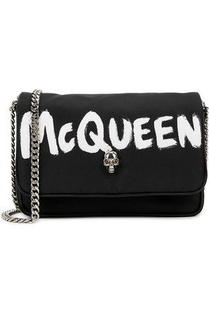 Alexander McQueen Logo faille cross-body bag