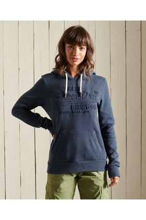 Superdry Women Hoodies - Vintage Logo Embossed Hoodie