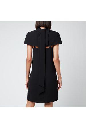 Victoria Beckham Women Dresses - Women's Cape Detail Soft Crepe Dress