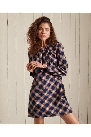 Superdry Women Party Dresses - Woven Check Mini Dress