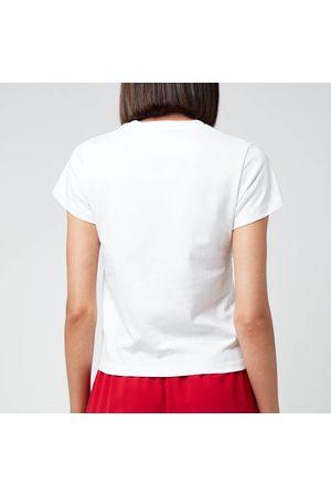 Victoria Beckham Women's Slim Fit Logo T-Shirt