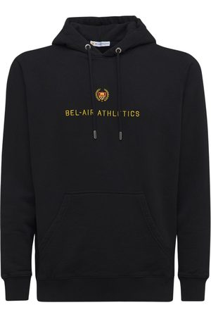 BEL-AIR ATHLETICS Cotton Hoodie W/big Embroidered Logo