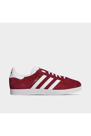 adidas Men Casual Shoes - Men's Originals Gazelle Casual Shoes in /Collegiate Burgundy Size 7.5