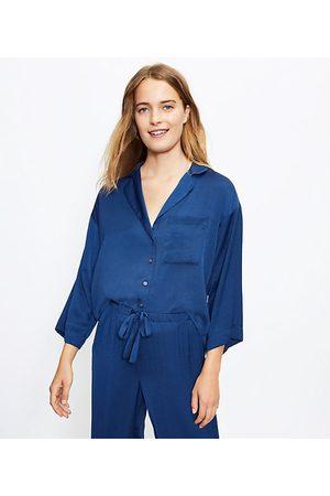 LOFT Silky Pajama Top