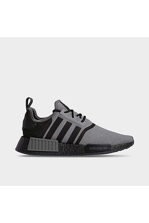 adidas Men's Originals NMD R1 Primeblue Casual Shoes in Grey/Grey Size 7.5 Knit/Plastic