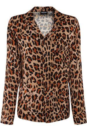 Dsquared2 Print Jersey Pajama Shirt