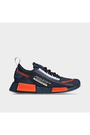 adidas Men Casual Shoes - Men's Originals x NASA NMD R1 Spectoo Casual Shoes in /Crew Navy Size 7.5 Knit