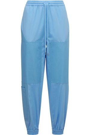Stella McCartney Organic Cotton Poplin Pants