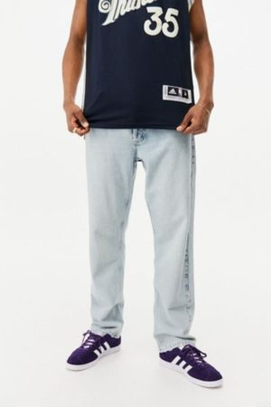 BDG Men Relaxed Fit - Organic Bleached Relaxed Dad Jean